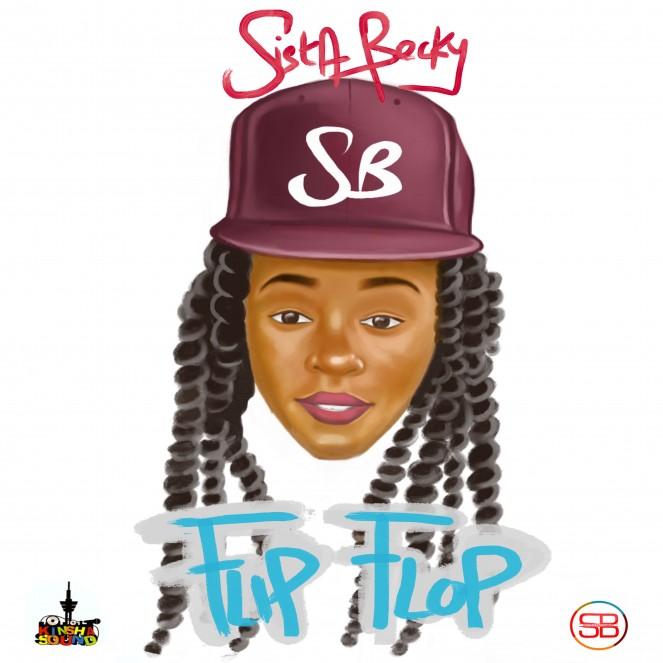 Sista Becky Flip Flop Artwork